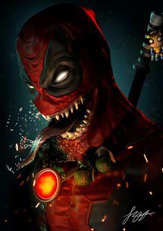 Venompool Alternate by liquid-venom.deviantart.com on @DeviantArt Marvel Comics, Marvel Cartoons, Marvel Dc, Marvel Universe, Deadpool Art, Deadpool Wallpaper, Cool Posters, Monster Trucks, Fans