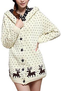 Minibee Women's Warm Christmas Style Kniited Hood Coat Beige Minibee http://www.amazon.com/dp/B018WS7NRE/ref=cm_sw_r_pi_dp_EOqywb0H875PD