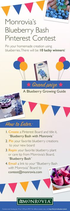 It's all about #Blueberries! Check out this contest from @monroviaplants