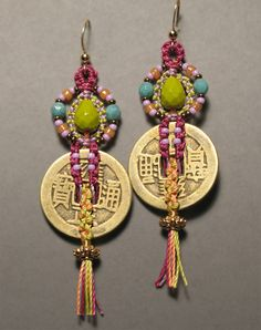 Micro Macrame Earring Patterns | 00 click the add to cart button above to pay online with your ...