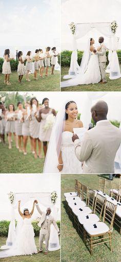 non-beachy jamaican wedding