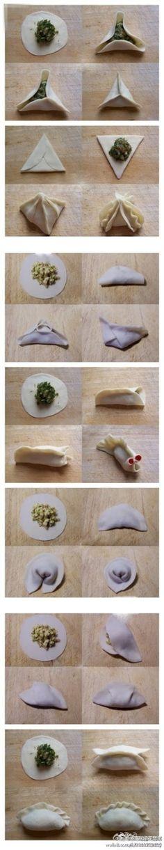 7 Ways To Fold Dumpling by Tuatha