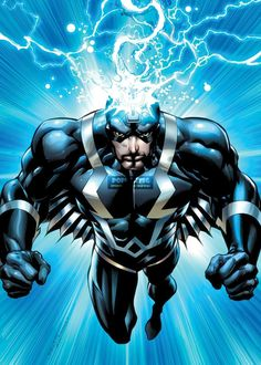 Marvel Comics Black Bolt Poster No AS100 via PopKartSg. Click on the image to see more!