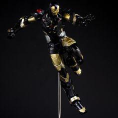 Iron Man: Marvel Now Iron Man Black x Gold Ver. Action Figure - AnimePoko.com
