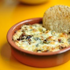 Killer App: Mushroom and Goat Cheese Queso