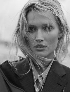 Toni Garrn By Matthew Brookes For GQ Germany November 2016
