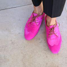 Shoes. Colour.