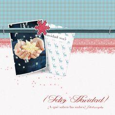 Nuevo videotutorial en el que aprenderemos como crear una felicitación navideña con técnicas de scrapbooking digital y Photoshop.
