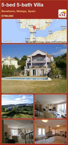 5-bed 5-bath Villa in Benahavis, Malaga, Spain ►€799,000 #PropertyForSaleInSpain