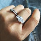 Princess Cut Rings, Princess Cut Engagement Rings, Rings Workout, Wax Ring, Jewelry Quotes, Ring Shapes, Types Of Rings, Simple Jewelry