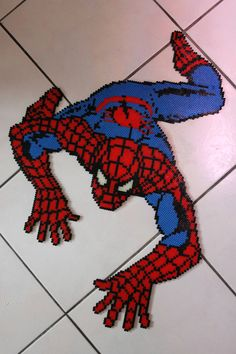 Spider Man Perler Bead