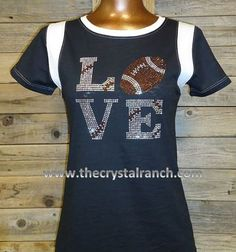 TS221 Football Love Tee