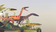 """Check out this @Behance project: """"Lonely Planet Dinosaur Atlas"""" https://www.behance.net/gallery/55276255/Lonely-Planet-Dinosaur-Atlas"""