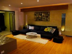 After: Moroccan Lounge - Chic Makeovers From Room Crashers on HGTV