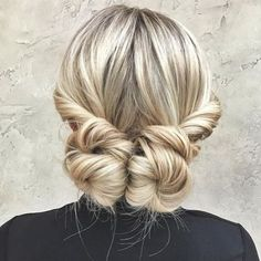 Pigtail Buns Updo Best Picture For long layered hair straight how to For Your Taste You are looking Preppy Hairstyles, Bun Hairstyles, Straight Hairstyles, Date Night Hairstyles, Halo Hairstyle, Straight Hair Updo, Short Haircuts, Curly Hair, Pigtail Buns