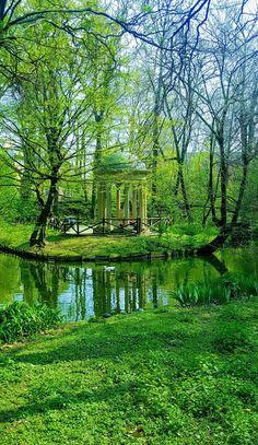 Giardini della Villa Reale di Via Palestro.