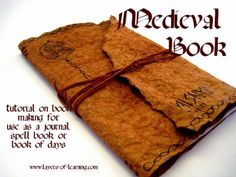 http://www.layers-of-learning.com/medieval-book-making-craft/