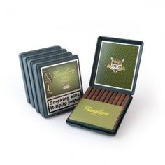 5 pack Cavalliere Brazil Cigarillos The dark wrapper form Brazil gives the cigar a slightly sweet undertone. Cigar is tobacco. Item is sealed to preserve its freshness. Cigar, Nintendo Consoles, Preserve, Brazil, Dark, Sweet, Chow Chow, Candy, Butter
