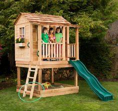 Little Squirt Playhouse with Sandbox.