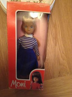 Moni doll in box - patch or pepper doll size | 16.77+2.8