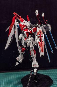 MG 1/100 Flash Impusle Gundam - Customized Build