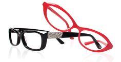Crystallised eyewear frames, available on our website.