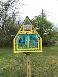 This #LittleFreeLibrary charter 99929 in Mohnton, Pennsylvania, was inspired by the steward's hobbies of glass fusing and painting. Little Free Libraries, Little Library, Free Library, Library Books, Community Building, Pennsylvania, Gazebo, Hobbies, Inspired