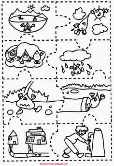 Ελένη Μαμανού: O Kύκλος του νερού Science Projects, Projects For Kids, Greek Language, Water Cycle, Illustrations And Posters, Drawing For Kids, Life Skills, Classroom Decor, Cool Kids