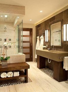 modern zen bathroom design More