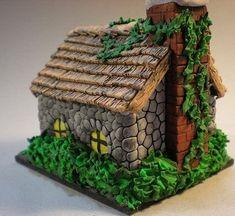 Сказочные домики из полимерной глины