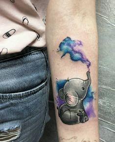 Watercolorart Couple Watercolor Tattoos Will Watercolor Tattoos Will Turn Your Body into a Living Canvas tattoo Wolf Tattoos, Animal Tattoos, Finger Tattoos, Body Art Tattoos, New Tattoos, Sleeve Tattoos, Tattoos For Guys, Tatoos, Watercolor Elephant Tattoos