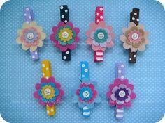 Prendedores decorados! | Flickr: Intercambio de fotos