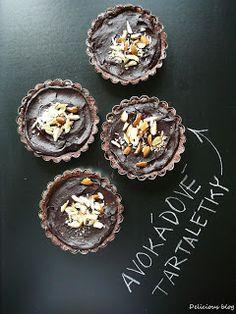 Delicious blog: Avokádové tartaletky Delicious Blog, Smoothie, Muffin, Paleo, Baking, Breakfast, Healthy, Sweet, Food
