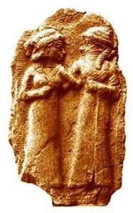 """Ngeshtin-ana is a minor goddess in Sumerian mythology, the so-called """"heavenly grape-vine"""".  she became the goddess of wine and cold seasons. She is a divine poet and interpreter of dreams."""