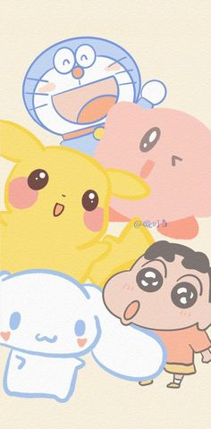 Aesthetic Backgrounds, Aesthetic Wallpapers, Cute Illustration, Bts Wallpaper, Cute Wallpapers, Cherry Blossom, Pikachu, Carpet, Kids Rugs