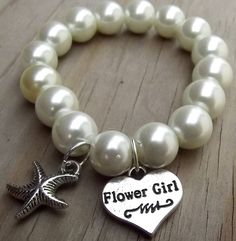 For Emma, Caspia and Calla Destination Beach Wedding: Star Fish Flower Girl Char… - Jewelry Ideas Pearl Beach, Beach Flower Girls, Beach Wedding Flowers, Wedding Beach, Beach Weddings, Beach Party, Starfish Wedding Cake, Beach Wedding Jewelry, Beach Wedding Bridesmaids