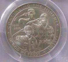 2010 Boy Scouts of America Commemorative Silver Dollar *PCGS MS69* $1