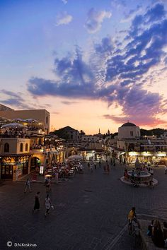 Hippocrates Square | Rhodes, Greece