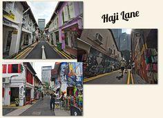 le streeart à côté des buildings Singapore, Asia, Travel