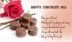 Fun Maza Lo: Chocolate Day Messages For Lover With Images 2017