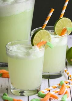 Healthy Easy Kids Witch's Potion Drink ! Perfect For Halloween Parties or Just a Fun Treat !