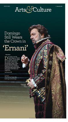 Domingo Still Wears the Crown in 'Ernani'|Epoch Times #Entertainment #editorialdesign