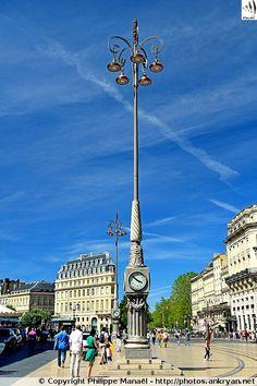 Place de la Comédie de Bordeaux (Aquitaine, Gironde)