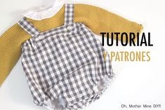 Sewing For Kids, Baby Sewing, Sewing Clothes, Doll Clothes, Baby Boy Outfits, Kids Outfits, Sewing Tutorials, Sewing Projects, Diy Bebe