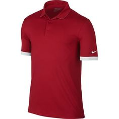 Nike Golf Icon Solid Polo - University Red/White