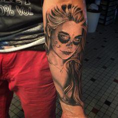 la catrina tattoo - Google Search