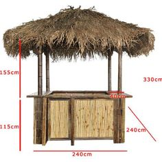 Image result for tiki bar zelf maken