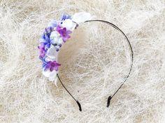 Romantic rose crown Vintage flower crown by StaroFlowerCrowns