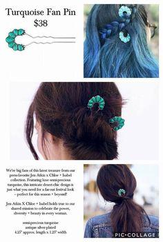 Jen Atkin x chloe + isabel = gorgeous hair jewelry! http://www.chloeandisabel.com/boutique/blessedbox/