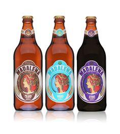 Madalena Pilsen, Weiss e Stout. Cervejaria Premium Paulista. Santo André-SP. #brazil #beer